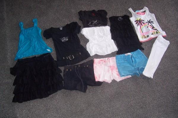 assorted summer clothing, porirua
