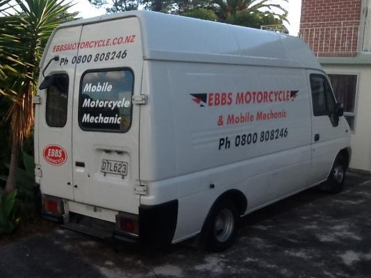 Ebbs motorcycle parts & repairs, Glen Eden