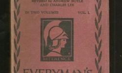 volume I only - 324pp - purple cloth - previous owner's name to front pastedown - preliminary pages and content edges slightly foxed - dustwrapper is moderately rubbed and soiled - spine faded - chipping and wear to edges with a few short tears - No.630