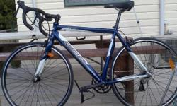 Expired ad. Please do not contact! Hello,  I am selling my road bike. I bought it one month ago because I do triathlon in France. But I go back in France in July that's why I am selling this road bike. It's perfect social and competition cycling,