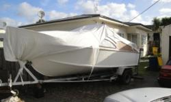 im selling my boat for 4k ono as is were is New leaf