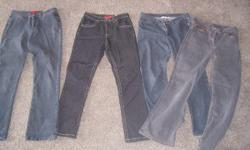 size 10 jeans 1 pair never worn 3 other pairs of jeans