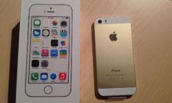 Phone 5s 64Gb 24ct 24K GOLD Factory Unlocked. iPhone is