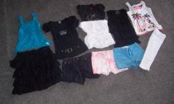 11 items all in good condition to fit girl between 8 to