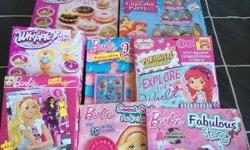 Bulk lots of barbie strawberry cupcake and whipping ice