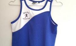 Size 6 and Size 10 Mana track & field singlets in very
