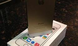 BRAND NEW SEALED! APPLE IPHONE 5S 64GB GOLD & WHITE
