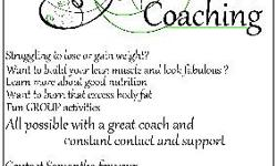 I'm offering my service as a wellness coach. My mission